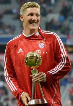 Bastian Schweinsteiger Deutschlands Spieler des Jahres 2013