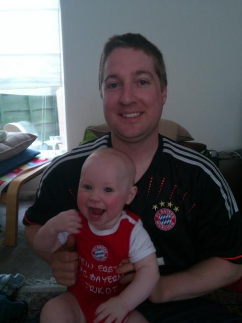 FCB Fan aus Manchester