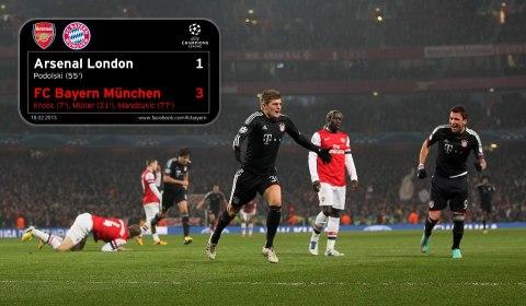 Arsenal-FCB 1zu3 Kroos zum 1zu0  19.2.13
