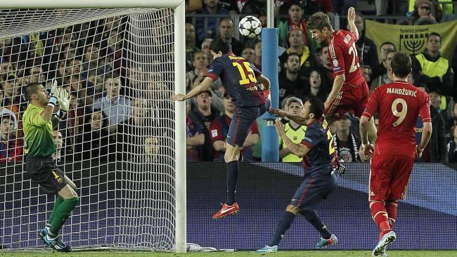 Champions League Halbfinale FC Barca-FCB,Müller 3zu0  1.5013