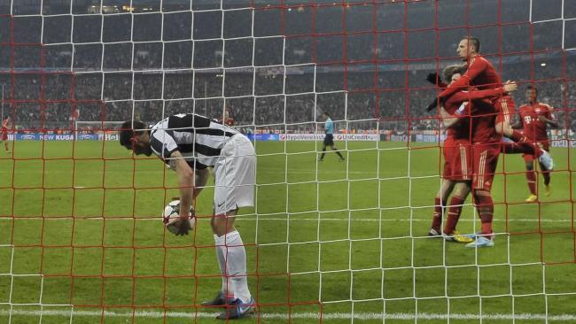 FCB-Juventus Turin 2zu0 Müller machts.