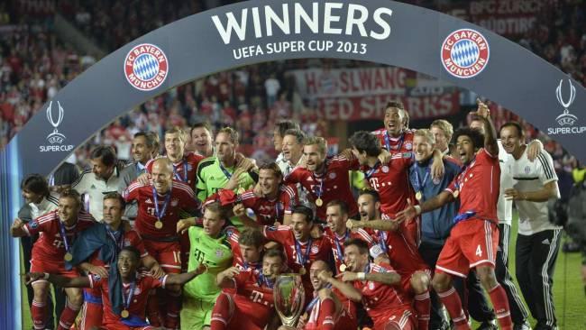 FCB-Supercup winner 2013