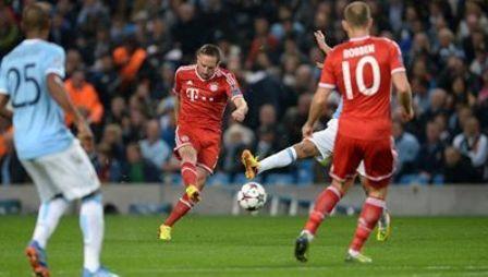 Manchester City-FCB Ribery 1zu0 2.10.13