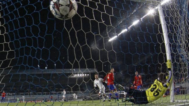 ZSK Moskau-FC Bayern 1zu3 Götze zum 0zu2  27.11.13