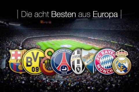 die Besten 8 aus Europa 2013