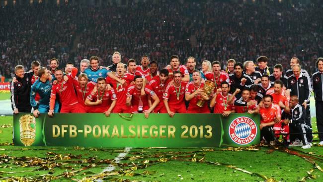 DFB Pokal 2013 Winner FC Bayern.1.6.13