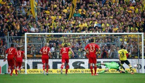 Dortmund -FCB 1zu1 Manuel hält 11meter.4.5.13