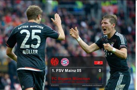 FSV Mainz-FCB 0zu1 durch Müller 2.2.13