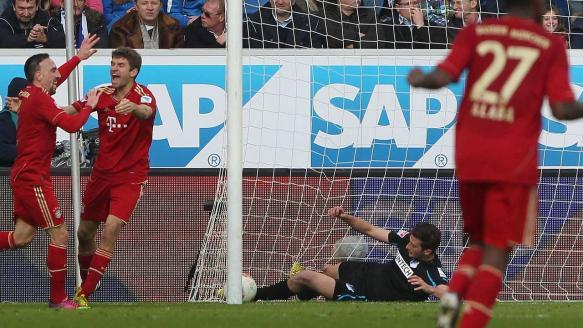 Hoffenheim-FCB 0zu1 Gomez machts.