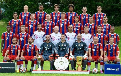 FCB Mannschaft 2014